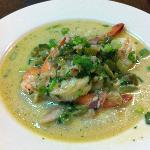 Bryan Beacham's Shrimp & Grits...delicious!