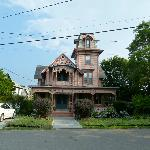 "Une ""Ginger Bread House"" d'Oak Bluffs"