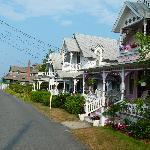 Oak Bluffs - rue menant à la plage - Pequot Ave
