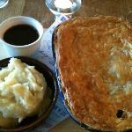 Pie and mash!