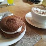 whoopie pies at st Martin's tea room & grill