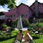 Hotel & Tuin achterzijde