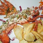 Delcious Lobster salad appetizer
