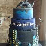 Batman Styled Cake