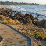 Walking/cart paths to the beach by The Links at Spanish Bay