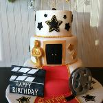 Movie Director Themed Cake