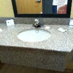 sink area in regular room