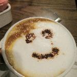 smiley face cappuccino