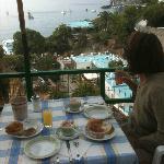 colazione vista mare