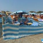 Il recinto 53 in riva al mare
