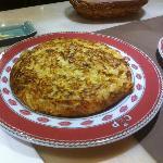 Tortilla de ibéricos