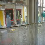 Decor in main hallway