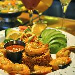 Delightful Mexican main dish (Camarones a la Diabla)