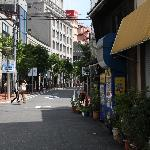 Your immediate neighourhood is the adorable Chayamachi. A cozy and chic low-density shopping are