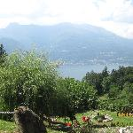 View of Lake Como from the grounds
