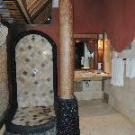 la salle de bain extèrieure