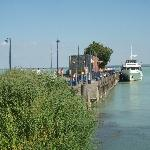 Photo 1. The harbour of Tihany.