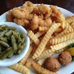 Fried Shrimp Plate.....delicious!