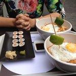 sushi & padtai kip