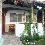 veduta di una veranda jambo house