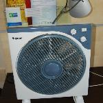 Extra fan instead of air conditioning