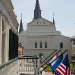 Balcony View of St. Louis Cathedral