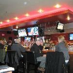 The bar at Shenannigan's in South Boston