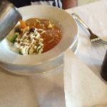Tortilla Soup with Broth Added