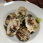 Raw Oyster Appetizer