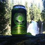 Great drink on a lovely hike!
