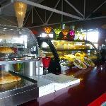 Pies & cakes on display