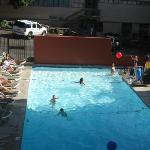 pool is well maintained and large