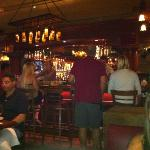 Bar area at Tin Roof Bistro