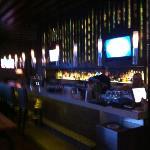 Bar area at Chops