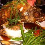 Redfish Asian style