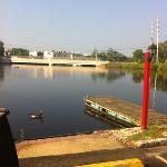 dock on back side
