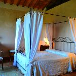 bedroom of Il Balcone Suite