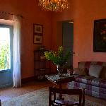 sitting room - Il Balcone Suite