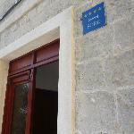 宿泊したお家の入り口