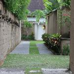 Walkway to Villas