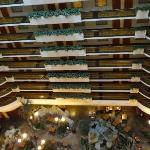 Looking down from 12th floor