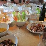 Table at Solo Ciccia