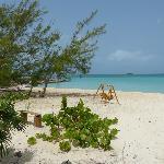 beach view from villa