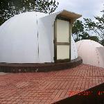 The igloo shaped FRP huts