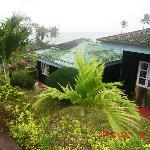 The reception at Megapode Camping Resort