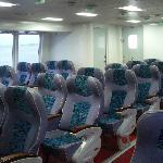 ビジネスの座席(高速艇)