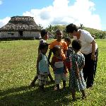 The Village kids with my wife