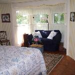 The Bay Window bedroom with pull out sofa bed
