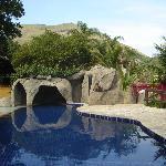 la piscina y el sauna