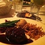 wonderful Filet Mignon, delish!